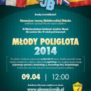 Konkurs Młody poliglota 2014